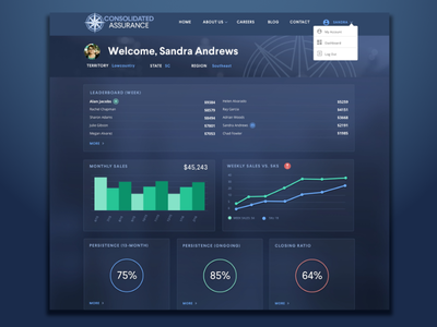 Consolidated Assurance Dashboard