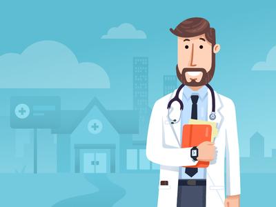 Videre Doctor Illustration