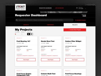 JTEKT Project Dashboard