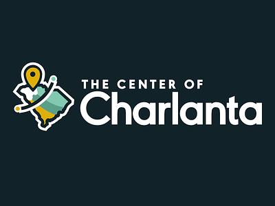 Charlanta region logo affinity designer branding vector logo