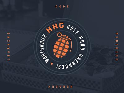 Worthwhile HHG badge affinity designer worthwhile marketing vector illustration