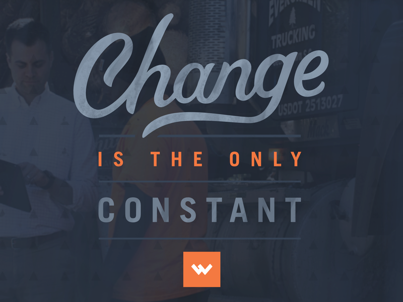 Change is the Only Constant worthwhile typography lettering affinity designer vector