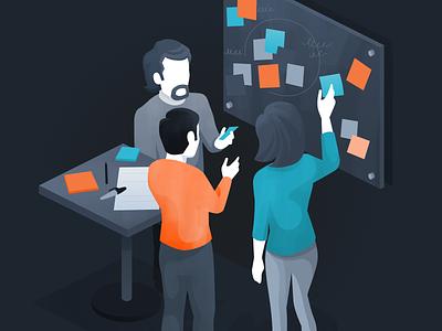 Worthwhile Design Thinking worthwhile illustration affinity designer vector