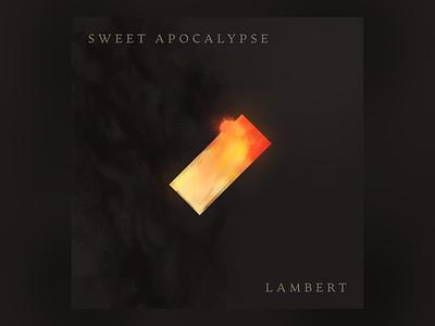 Sweet Apocalypse Cover Concept illustration self-initiated album art brushes affinity designer