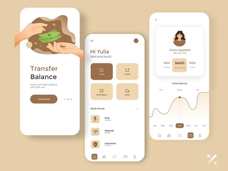 WALLE ui design ui  ux app design