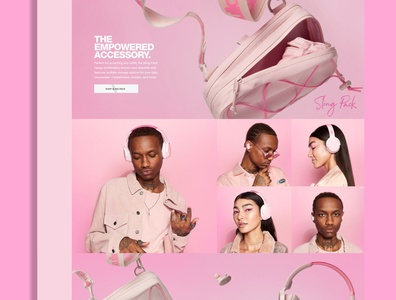 Skullcandy 12 Moods Empowered 12moods ux ui pdp bigcommerece layout ecommerce design product photography webdesign website shop ecommerece skullcandy