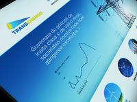 Transenergo Logo + Website