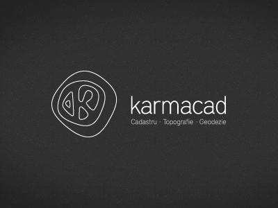 Karmacad mark cadaster topographic geodesy id logo