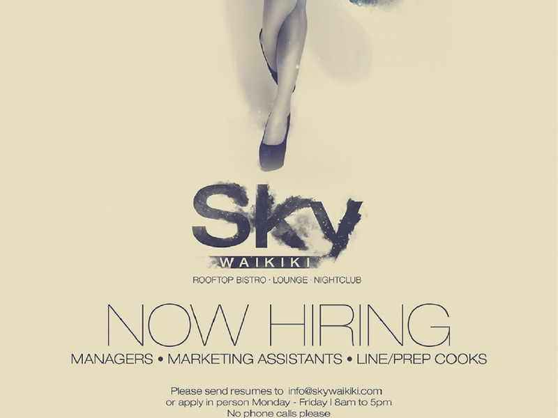 Sky Hiring Ad marketing agency marketing logo illustration graphic design graphicdesign digital art digitalart designs designer design agency design creative design creative branding