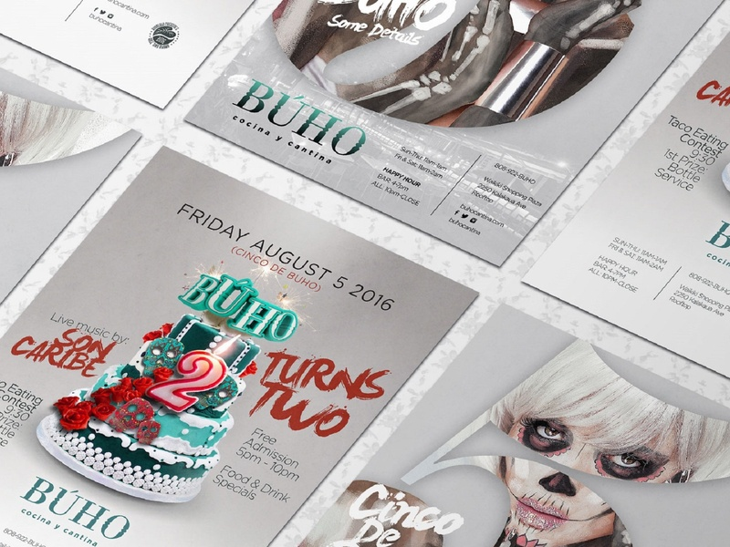 Buho Flyers marketing agency marketing illustration logo graphic design graphicdesign digital art digitalart designs designer design agency design creative design creative branding