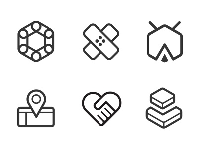 LOCKet  official website icons vector ui icon illustration