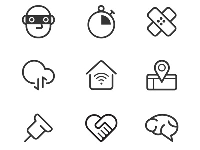 LOCKet  official website icons 2 ui vector illustration icon