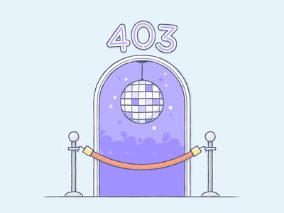 Club 403... Error