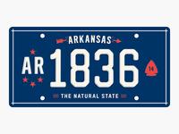 State Plates: Arkansas