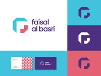 FAB Logo f mark arrow logo steps logo f logo clever wordmark monogram logos typography branding logo logotype mark minimal