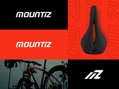 Mountiz   Brand Identity logo mark wordmark monogram typography logotype minimal brandidentity brand logos logodesign cycle bikeshop bike mountiz