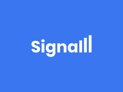 Signal | Wordmark icon typography branding logo logotype mark minimal network signal signal app cleverlogo clever wordmark