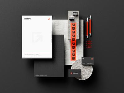 Gateway   Branding (Behance) mark logos logo logo design corporate branding brand identity wordmark presentation monogram branding design minimal