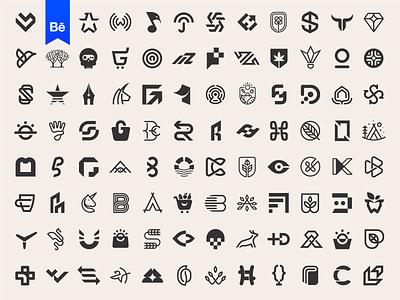 Logos & Marks on Behance logodesign behance logofolio clever icon wordmark monogram logos branding logo logotype mark minimal
