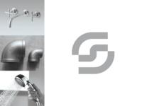 Splash 'S' logo concept