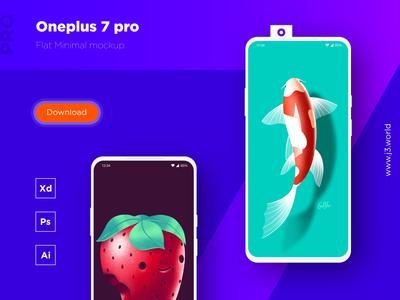 Oneplus 7 Pro | Free Mockup
