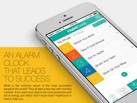 HabitClock app