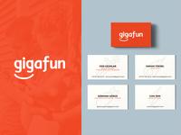 gigafun logo & branding