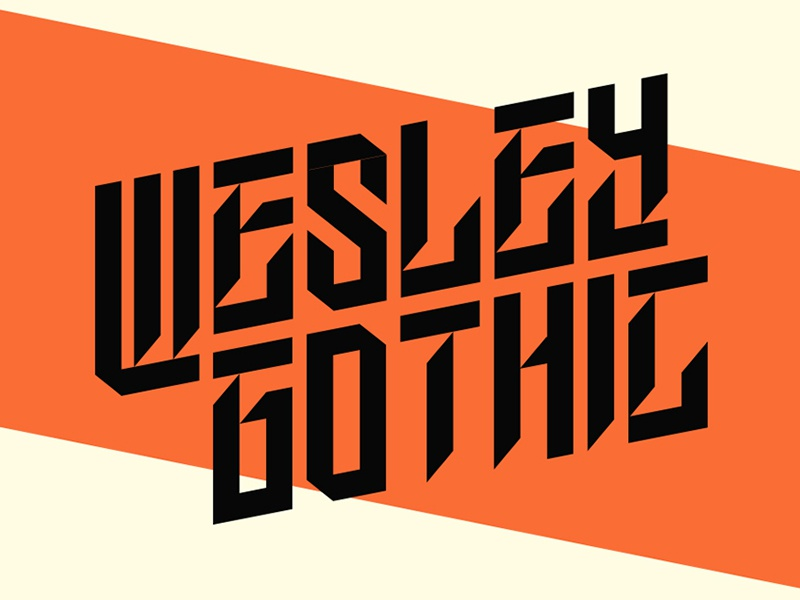 Download Wesley Gothic | Free Font