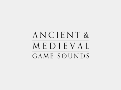 Soundsnap Typography #7 - Ancient & Medieval Game Sounds