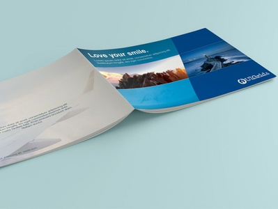 viewtechindia broucher 1 illustration design branding