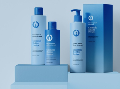 Cosmetics Product Design design vector branding