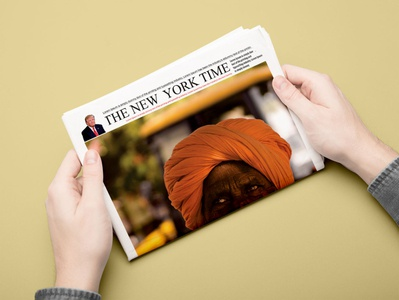 Newspaper Design design branding
