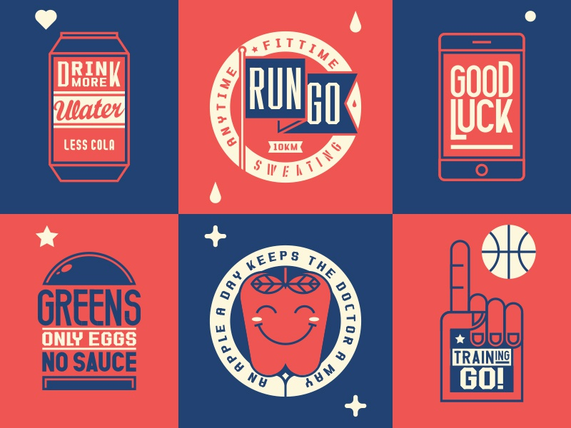 Graphics apple typeface typography illustration graphic sports