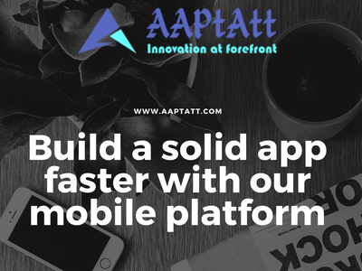 Work Faster With Us aaptatt solutions