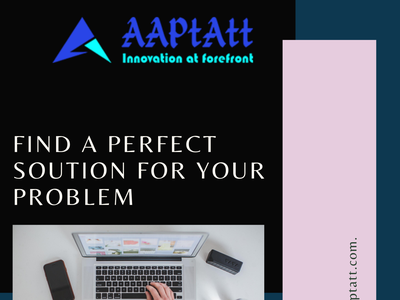 Find solutions for your IT problems web dev solutions design branding aaptatt solutions web