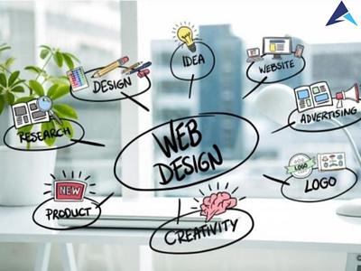 Web development app web dev web solutions illustration aaptatt solutions