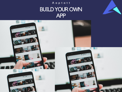 Build your own app branding design logo web dev app web aaptatt solutions