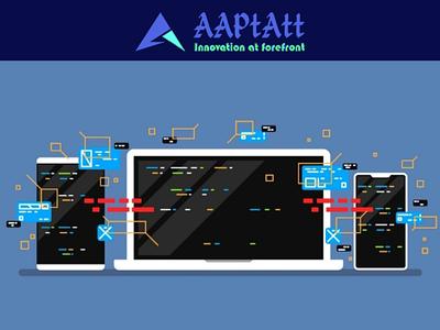 Web development app branding web dev aaptatt solutions web