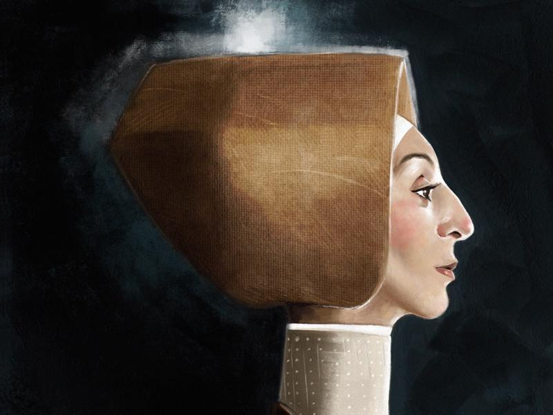 Headwear illustration