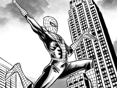 Spider-Man marvel spiderman marvelcomics comics procreate illustration