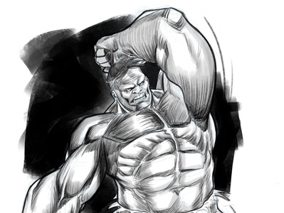 HULK marvelcomics hulk marvel procreate illustration