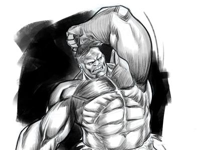 HULK marvelcomics hulk marvel procreate illustration