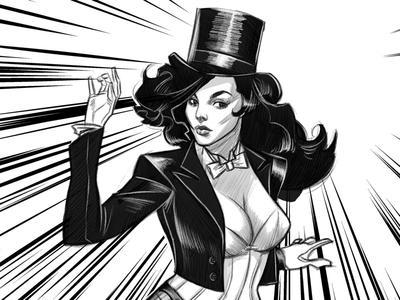 Zatanna illustration