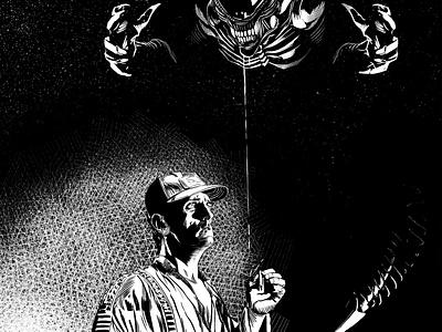 Alien+Brett illustration