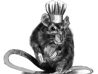 Chef inktober inktober2020 illustration