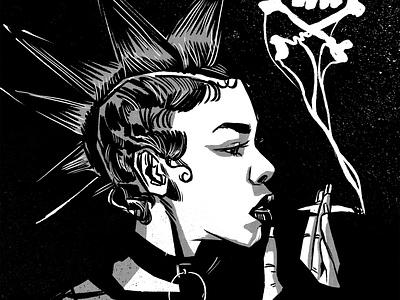 punk illustration