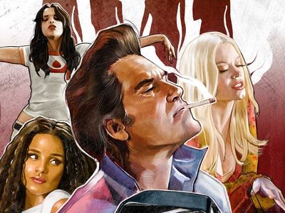 deathproof posters movieposters prints illustration
