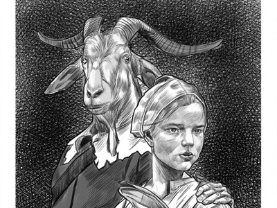 The Witch movieposters fine art illustration
