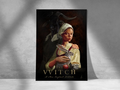 The Witch Print movieposters horror horrormovies fine art illustration