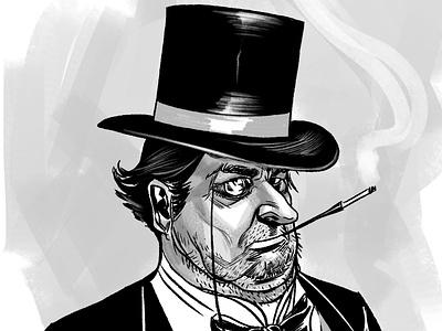 The Penguin illustration